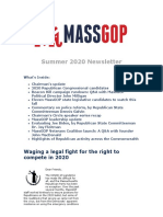 2020-08-14 MassGOP Summer Newsletter 2020