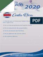 Peticiones Misioneras Mes de Agosto 2020