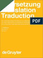 Übersetzung - Translation - Traduction. 3. Teilband by Harald Kittel (z-lib.org)