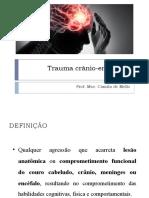AULA 11 - Trauma crânio-encefálico (1)