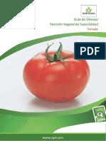 Guía de Manejo Nutrición Vegetal de Especialidad Tomate