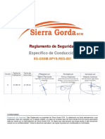 SG-GSSM-SPYS-REG-001 REGLAMENTO SEGURIDAD ESPECIFICO DE CONDUCCION