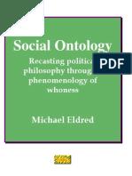 Social Ontology