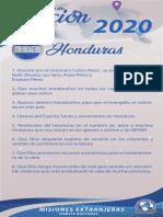 Peticiones Misioneras Mes de Febrero 2020
