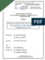 Réseau d accès fibre optique en configuration FTTx -HADJI et ADJALA - Copie.pdf