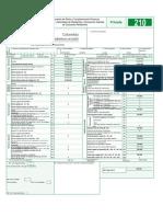 formulario DIAN- ejercicio 2