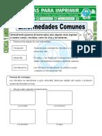 Ficha-de-Enfermedades-Comunes-para-Tercero-de-Primaria
