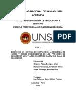 TIF-DISEÑO DE UN SISTEMA DE EXTRACCION LOCALIZADA DE HUMOS Y GASES