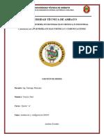 Manual DHCP arrastre GEstion de REdes