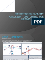 SDH Network Capacity Analyzer – customized for Huawei T-2000 NMS