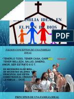 LA FAMILIA IDEAL EN EL PLAN DE DIOS
