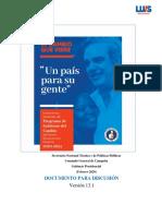 PRM - PROGRAMA DE GOBIERNO 2020 - 2024