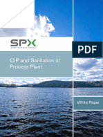 Paper 2013 - CIP and Sanitation of Process Plant - Anonim (SPX).pdf