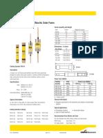 Bussmann series PVS-R fast-acting solar fuses no. 4203