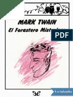 El forastero misterioso - Mark Twain.pdf