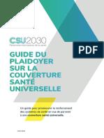 guide de plaidoyer CSU 2030