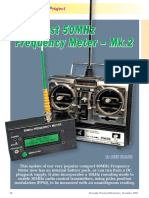 Low-Cost 50MHz Frequency Meter - Mk.2