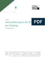 Selmair 2014 - Automatisierung in der SAP GUI per Scripting - Leseprobe