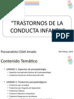 Trastornos Conducta Infantil - PRESENTACIÓN MÓDULO 1.pptx