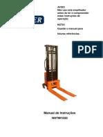 Manual transpaleteira elétrica Tander