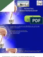 Promoting BioEntrepreneurship