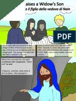Gesù risuscita il figlio della vedova di Nain