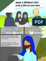 Jesus ressuscita o filho de uma viúva