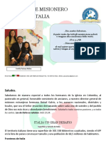 Informe-misionero Italia MAYO 2020