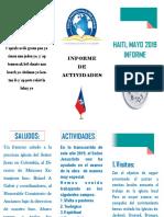 Informe-Misionero Haiti Mayo-2019