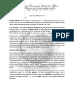 Informe Misionero Guinea-Bissau Mayo 2019