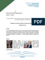Informe Misionero Republica Dominicana Febrero 2019