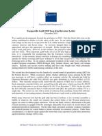 Plugin-Tocqueville Gold 2010 Year-End Investor Letter