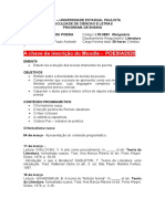 Cronograma da disciplina Teorias da poesia - alunos2020 .docx