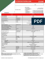 PUHY-P120TNU-A (-BS) 208-230V Product Data Sheet