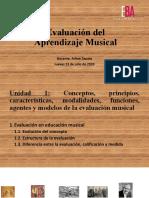 1. Evaluación en educación musical