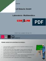 Presentación COM3LAB