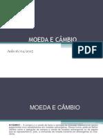 AULA_MOEDA E CÂMBIO