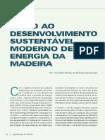 DESENVOLVIMENTO SUSTENTÁVEL MODERNO DE ENERGIA DA MADEIRA