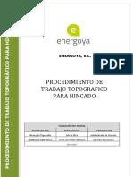 PROCEDIMIENTO DE TRABAJO TOPOGRAFICO PARA HINCADO REVISION.pdf