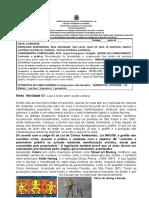 LINGUAGENS - aula 1A -  COVID 19 - 9ºs anos - DIA 17-08-2020