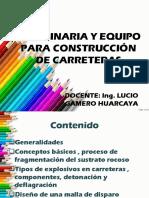 MAQUINARIA Y EQUIPO PARA CARRETERAS