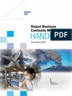 Airport Business Continuity Handbook First Edition 2019