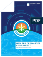 New Era of Smarter Food Safety FDA's Blueprint for the Future