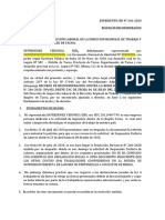 2016-102071 CASO RECURSO DE RECONSIDERACION 10-08-2020