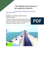 PLEITOS CARBON-INTERNACIONALES-CERREJON