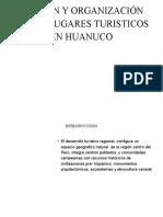 GESTION Y ORGANIZACIÓN DE Los  LUGARES TURISTICOS EN
