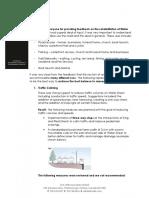 Water Street rehabilitation public comments summary