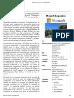Microsoft - Wikipedia, la enciclopedia libre