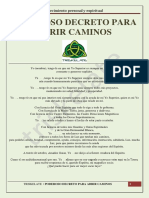 Poderoso Decreto Para Abrir Caminos.pdf