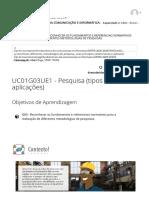 UC01G03UE1 - Pesquisa (tipos e aplicações) _ FUNDAMENTOS DA COMUNICAÇÃO E INFORMÁTICA